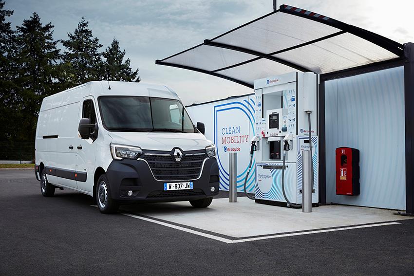 Renault MASTER ZE Hydrogen.