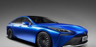 Segunda generación del Toyota MIrai de pila de combustible.