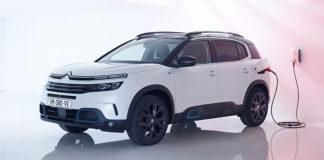 Nuevo SUV híbrido enchufable de Citroën, el C5 Aircross Hybrid.