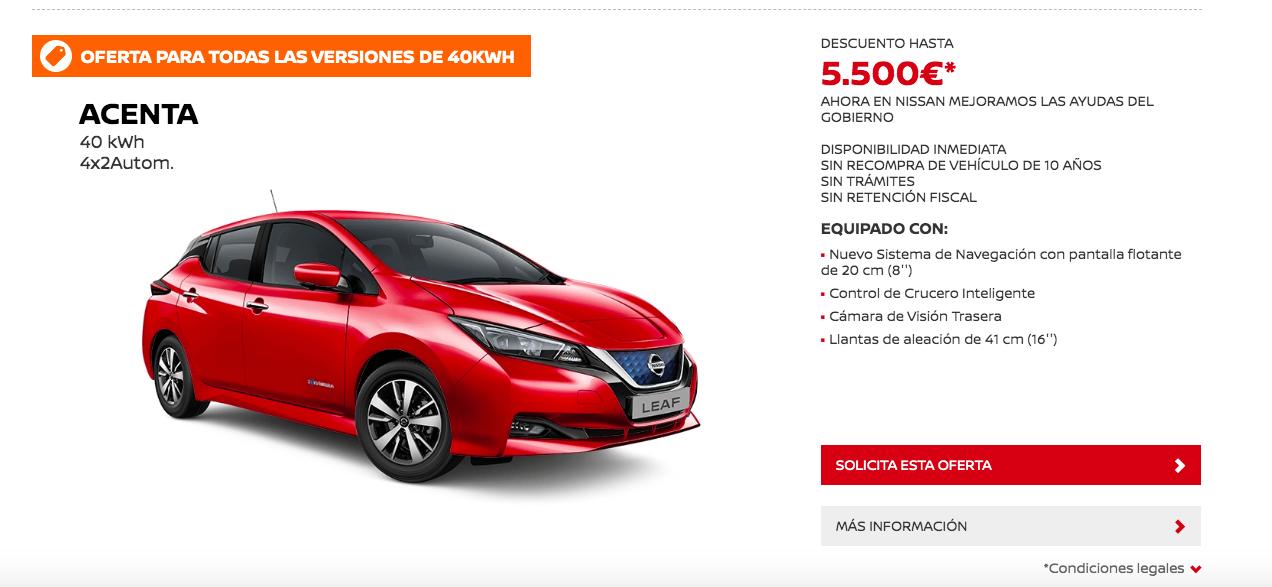 Black Friday Eléctrico: Nissan