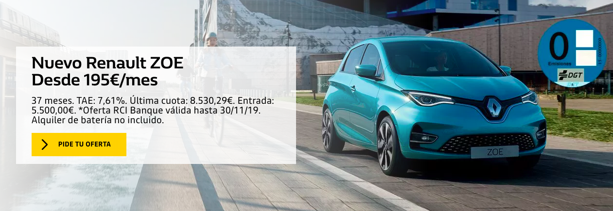 Black Friday Eléctrico: Renault