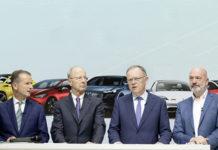 Conferencia de prensa del Grupo Volkswagen