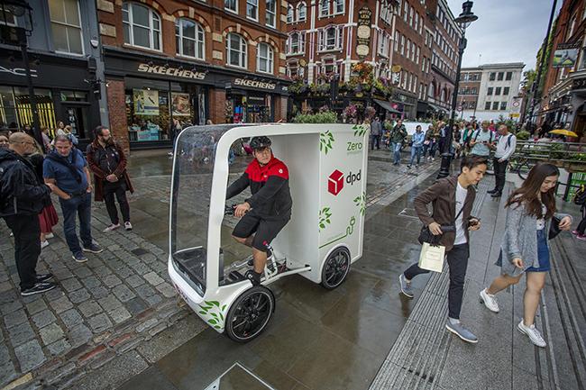 El concepto del P1 está desarrollado para hacer más eficiente y sostenible la entrega de última milla en las ciudades.