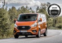 Ford Transit Custom Plug-In Hybrid. Primer premio IVOTY 2020.