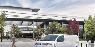 Jumpy, un paso más en la electrificación de la gama de vehículos comerciales de Citroën.