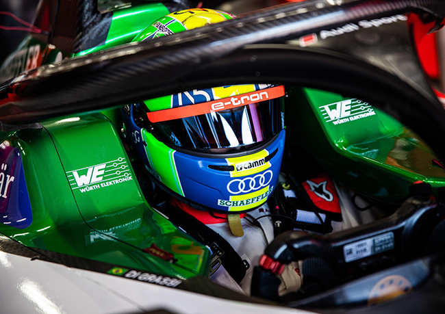 Lucas di Graasi, en la imagen, y Daniel ABT serán los pilotos del equipo Audi Sport ABT Schaeffler de la Fórmula E.