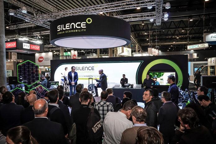 Presentación de Silence durante la SmartCity BCN Week.