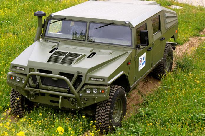 VAMTAC, Vehículo de Alta Movilidad Táctico, eléctrico, para el ejército.