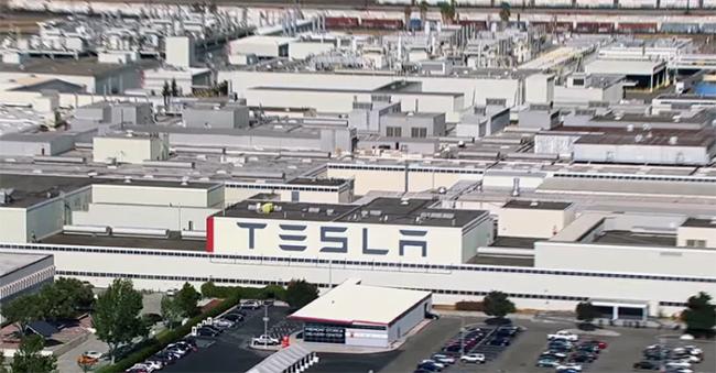 Gigafactoría de Tesla en Freemont (California).