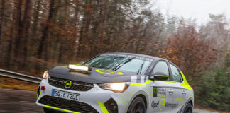 Opel Corsa-e Rally.