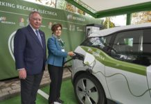 Parking verde Ifema-Iberdrola
