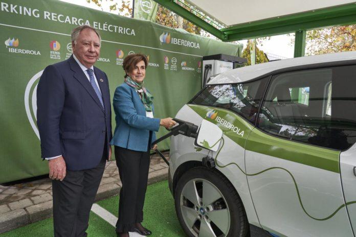 Parking verde Ifema-Iberdrola
