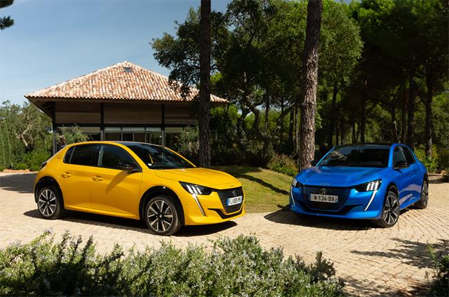 El nuevo Peugeot 208 llega con una versión eléctrica.