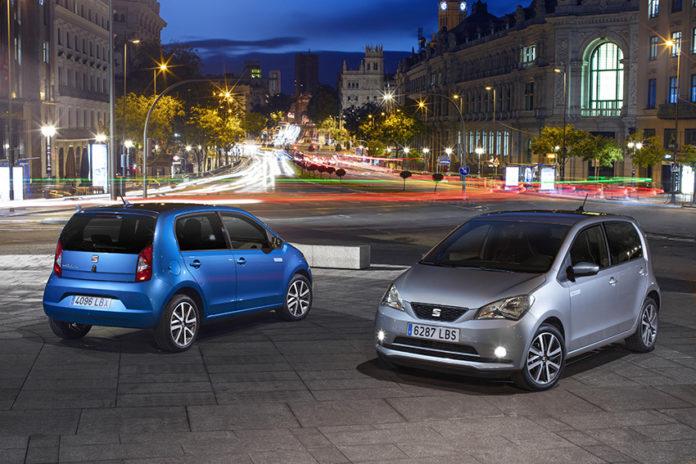 SEAT Mii Electric.