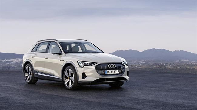 Audi e-tron, coche oficial de la COP25.