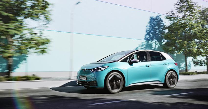"""Volkswagen ID.3, un vehículo importante en la estrategia """"Transform2025+"""" de la marca."""