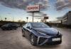 El Mirai de hidrógeno matriculado es el primero de una flota que Toyota España va a poner en circulación.