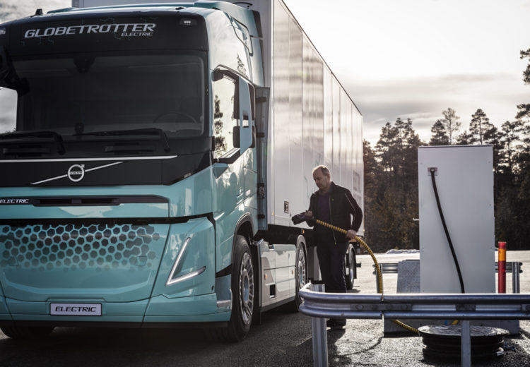 volvo trucks camiones electricos