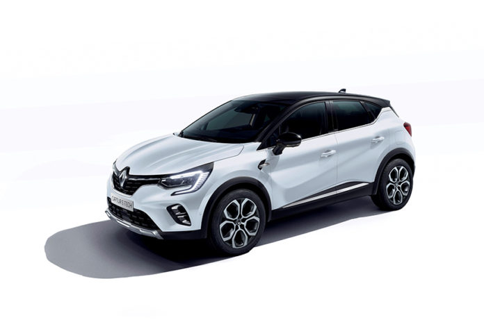 2020 Renault CAPTUR E-TECH Plug-in.
