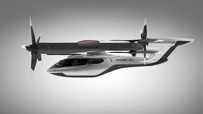 Hyundai y Uber desarrollan un proyecto de taxi aéreo compartido.