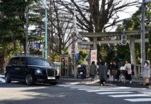 LEVC TX en Japón.
