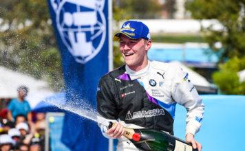 Maximilian GŸnther (DEU), BMW I Andretti Motorsports, 1st posición, tercera carrera de la Fórmula E, Santaigo de Chile.