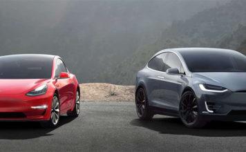 Tesla Model 3 y Model X.