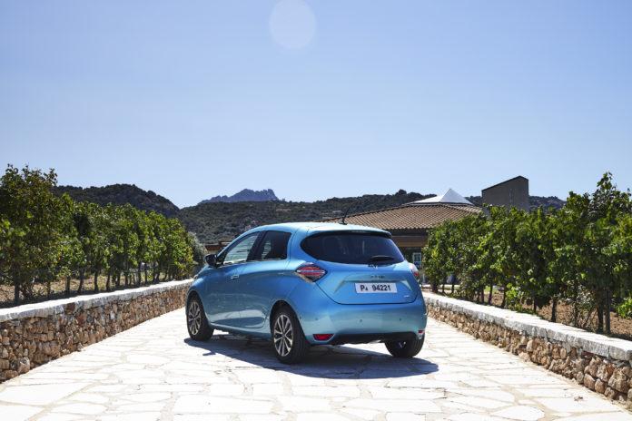 Ventas de vehículos eléctricos en agosto 2020