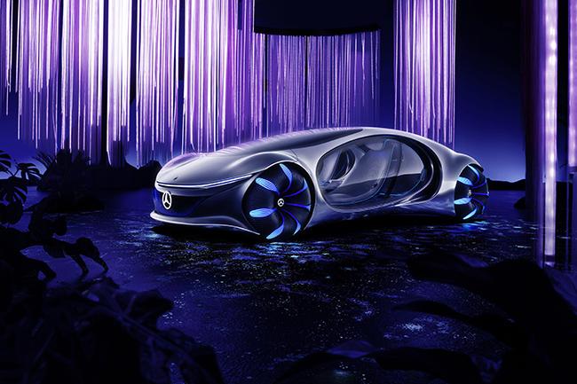 Presentación del Mercedes VISION AVTR.