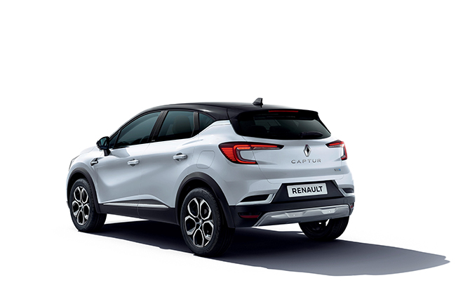 Renault Captur E-Tech Plug-in.