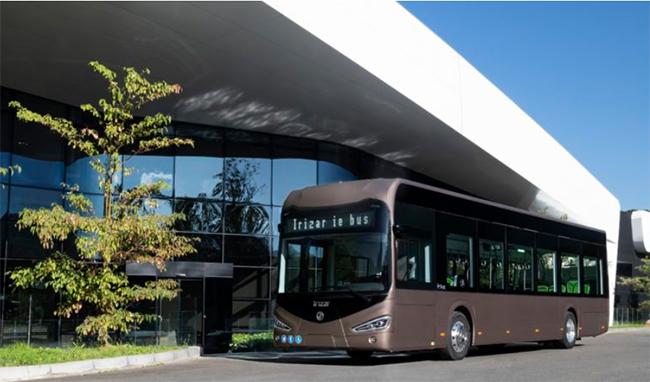 Irizar presentó recientemente sus renovados ie bus.
