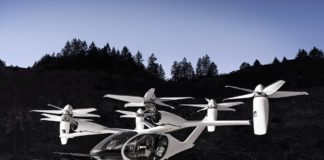 El eVTOL de Toyota y Joby Aviation.