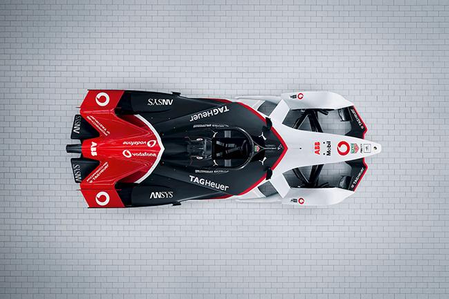 El acuerdo entre Porsche y ABB añade un nuevo logotipo al monoplaza de la Fórmula E.