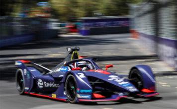 Sam Bird, de Envision Virgin Racing, vencedor de la carrera de Santiago en la quinta temporada de la Fórmula E.