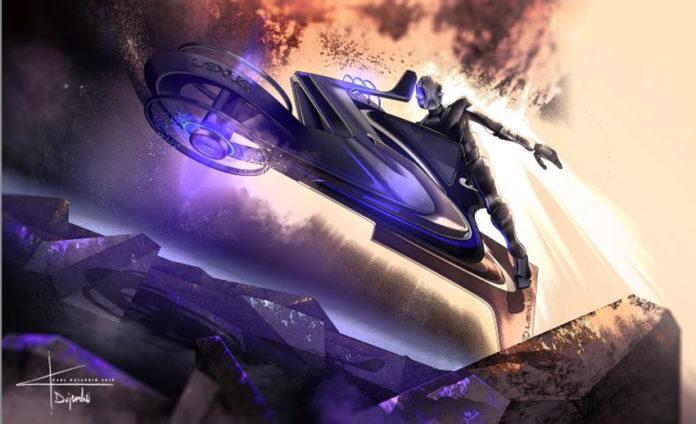 Lexus Zero Gravity, el vehículo diseñado para recorrer la superficie de la luna.