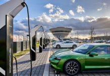 Estación de carga rápida Porsche