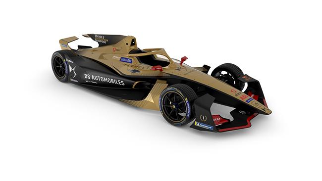 Nuevo monoplaza del equipo de Jean Eric Vergne, DS TECHEETAH, actuales ganadores del título, por pilotos y equipos, de la competición.