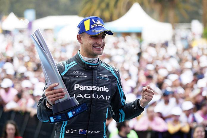 Mitch Evans (NZL), Panasonic Jaguar Racing, ganó la cuarta carrera de Ciudad de México.