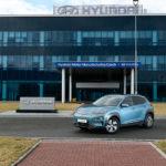 La producción del Kona Eléctrico en la República Checa empezará en marzo.