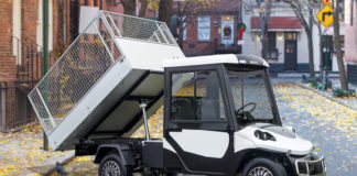 MELEX 39X, un versátil vehículo eléctrico para trabajos en la vía pública.