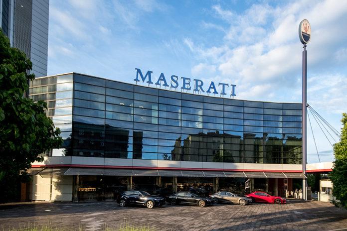 Sede central de Maserati en Módena (Italia).