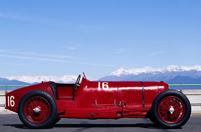 Maserati Tipo 26, un vehículo desarrollado por Alfieri Maserati para competición entre 1926 y 1932.