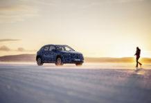 Mercedes-Benz EQA en pruebas de invierno en Suecia.