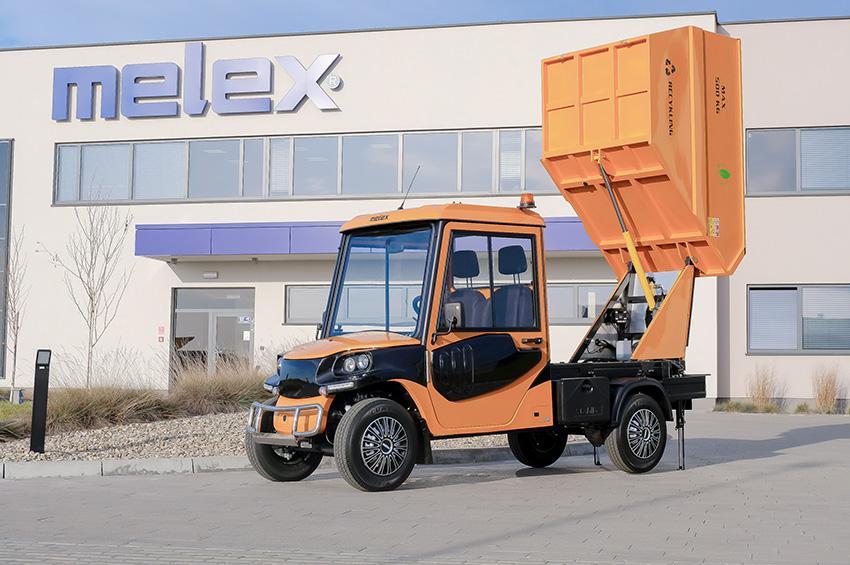 Model Z para carga de basura.