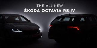 Nuevo ŠKODA Octavia RS iv.