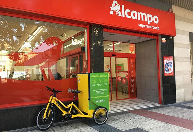 25 supermercados de Alcampo en Madrid se unen a la cartera de clientes de Revoolt. Ya contaba con los de Zaragoza y Logroño.