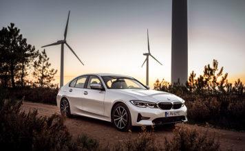 Nuevo BMW 330e sedán híbrido enchufable.