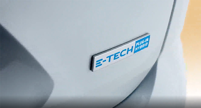La versión PHEV lleva un motor de gasolina y dos motores eléctricos.