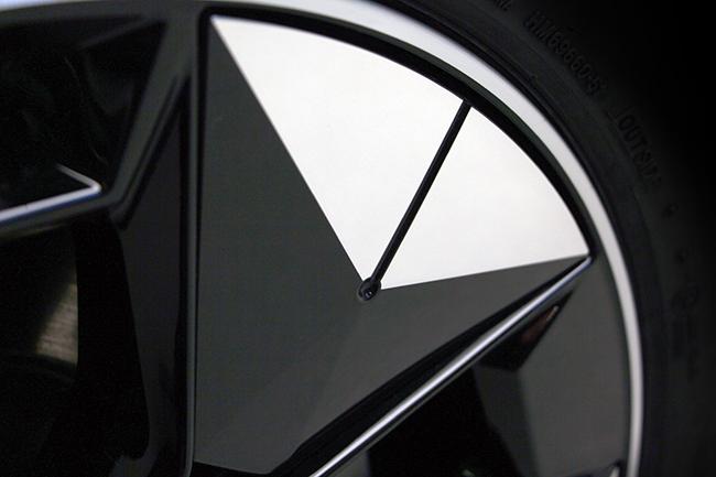 La rueda permite diferentes posibilidades de personalización.