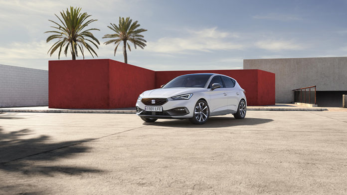 SEAT y CUPRA estarán en Ginebra con novedades mundiales. En la imagen, el nuevo SEAT León.